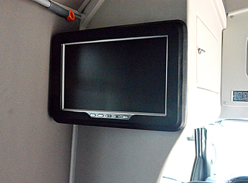 the tv of vehicle